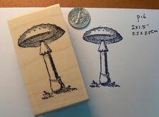 Mushroom rubber stamp P16
