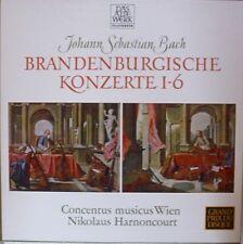 LP Box-Brandenburgische Konzerte 1-6 Harnoncourt 2LP Box