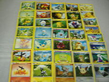 COMPLETE (36) BLACK & WHITE COMMON NONHOLO POKEMON CARD SET MINT-Tepig Snivy+