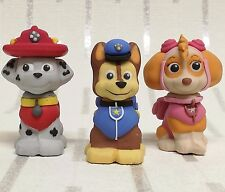 Paw Patrol Cake Toppers Hard Sugar Decoration Cake Decorating cup cake