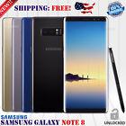 Samsung Galaxy Note 8 SM-N950U 64GB Factory Unlocked Phone Black Gold Blue A+