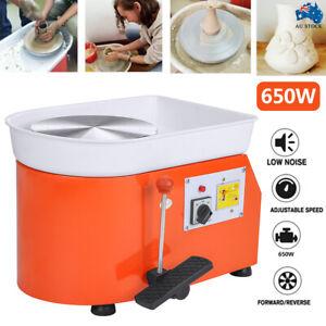 650W Electric Pottery Wheel Ceramic Machine Work Clay Art Craft Free Accessories