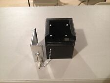 Permavault in room or elsewhere thick steel armored safe box with 3 Medeco keys