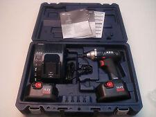 AEG Schlagschrauber BSS 14 3,0Ah 2x Akku  Ladestation und hochwertigen Koffer