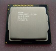 INTEL CORE i5 2500K  (QUAD CORE 3.30 GHz)  SOCKET 1155 CPU ~ SR008