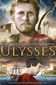 Ulysses DVD Kirk Douglas New and Sealed Australian Release