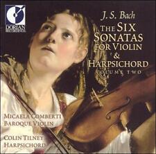 Comberti; Tiney-V 2: Six Sonatas For Violin & CD NEW