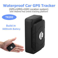 Wireless GPS Tracker GPRS GSM 6400mAh Online Locator For Motorcycle Vehicle Car