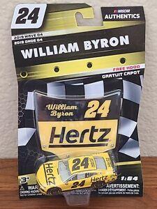 2019 Wave 4 William Byron Hertz Rentals 1/64 NASCAR Authentics Diecast
