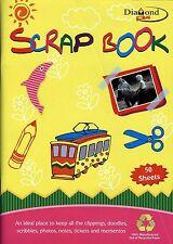 Diamond plus SCRAP Book, A4 - 50 feuilles, fun avec découpe et clipping-cpg / 054