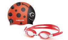 Head Meteor Junior Character Goggle & Swim Cap Set - Red