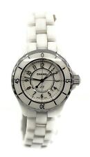 Chanel J12 White Ceramic Watch H0968