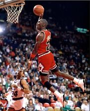 GLOSSY PHOTO PICTURE 8x10 Michael Jordan Dunk