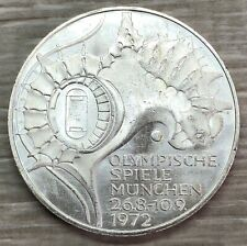 1972 Germany Munich Olympics 10 Mark Silver Coin (G418)
