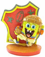 "LM Spongebob Football Player Aquarium Ornament 3"" Tall"