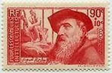 """FRANCE STAMP TIMBRE N° 344 """" AUGUSTE RODIN 90 + 10 C """" NEUF x TB"""