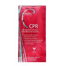 1 Malibu C CPR Color Pigment Stain Remover Treatment + 1 Processing Cap 0.7oz