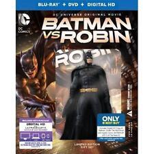 Batman vs. Robin (Blu-ray/DvD/Digital HD) w/ Figurine  digital comics Best Buy