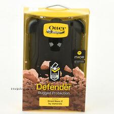 OtterBox Defender Moto Motorola Droid Maxx 2 Case w/Holster Belt Clip (Black)