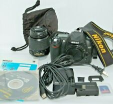 Nikon D50 6.1MP Digital SLR Camera Kit w/ 18-55mm Lens Extras ONLY 6,444 Shutter