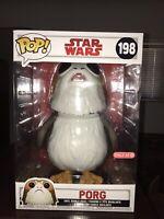 Funko Pop! Porg Target Exclusive 10 Inch Star Wars The Last Jedi #198