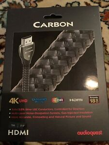 AudioQuest Carbon HDMI Cable - 1m