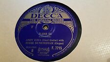ANDY IONA & EDDIE DUNSTEDTER ALOHA OE & SONG OF THE ISLANDS DECCA F7715