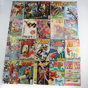 DC Silver Age ~The Flash Comic Book Lot of 20 Books Mix