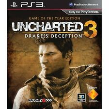 Uncharted 3 Drake's Deception Game Of The Year Sony PlayStation 3 PS3 Brand New