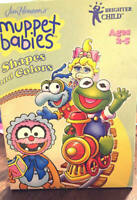 Jim Henson's Muppet Babies Shapes & Colors CD ROM ONLY Brighter Child 2-5 Years