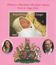 Congo Royalty Postal Stamps