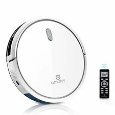Amarey Smart Robot Vacuum Cleaner 360° Clean Auto Robotic Mopping Sweeper White