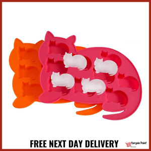 Silicone Cat Baking Mold Chocolate Wax Soap Jelly Ice Cube Sugarcraft Mould 22cm