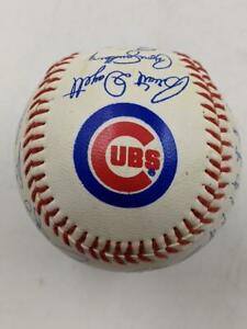 Vintage 1980's Chicago Cubs Union 76 Team Autographed (Printed) Baseball