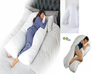Extra Fill Comfort U or V Pillows Body Back Supports Nursing Maternity Pregnancy