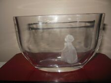 ORREFORS VASE Wish to the Moon Vintage #F.2769 Excellent Condition Free shipping