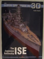 Kagero Book: The Japanese Battleship Ise (Super Drawings in 3D)