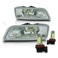 Fit 06-07 Honda Accord Inspire 4Dr Fog Light w/Wiring Kit & COB LED Bulbs