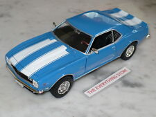 WELLY 68 CHEVY CAMARO Z/28 302 CI 1:24 BLUE OR RED YOU CHOOSE FREE SHIP