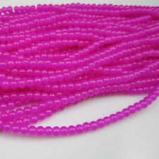 NEW 100pcs 4mm Ball Rose colors crystal Beads for Fit Bracelets Necklaces TTC32