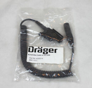DRAGER Radio Connector Part # 4056218 for Motorola HT/JT1000 MTS2000 MTX NEW