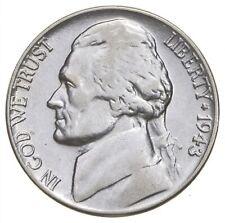 5c BU Unc MS 1943-P Jefferson WARTIME Silver Nickel *678