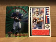 1998 Bowman's Best Performers Peyton Manning Rookie Class Lot