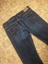 Abercrombie & Fitch Women's Designer Blue Jeans Size 2S W26 L31 Boot Cut Casual
