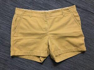 J Crew Womens 10 Broken In Chino Shorts Classic Twill 10443
