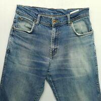 Wrangler  Mens  Jeans W28 L30 Blue Regular Straight