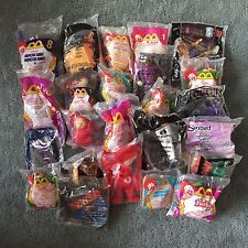 Lot of 24 Happy Meal Toys from McDonalds, Burger King *RARE-VINTAGE*NEW IN  PKGS