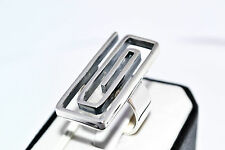 925 STERLING SILVER HANDMADE SOLID NO STONE RING SIZE UK-N  / US- 7