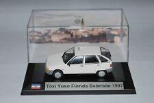 Taxi Yugo florida Belgrade Yougoslavie 1997 1/43 avec boite vitrine.