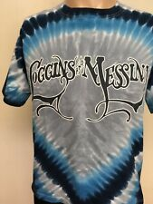 LOGGINS AND MESSINA TOGETHER AGAIN 2009 TIE DYED CONCERT T SHIRT Blue Gray M